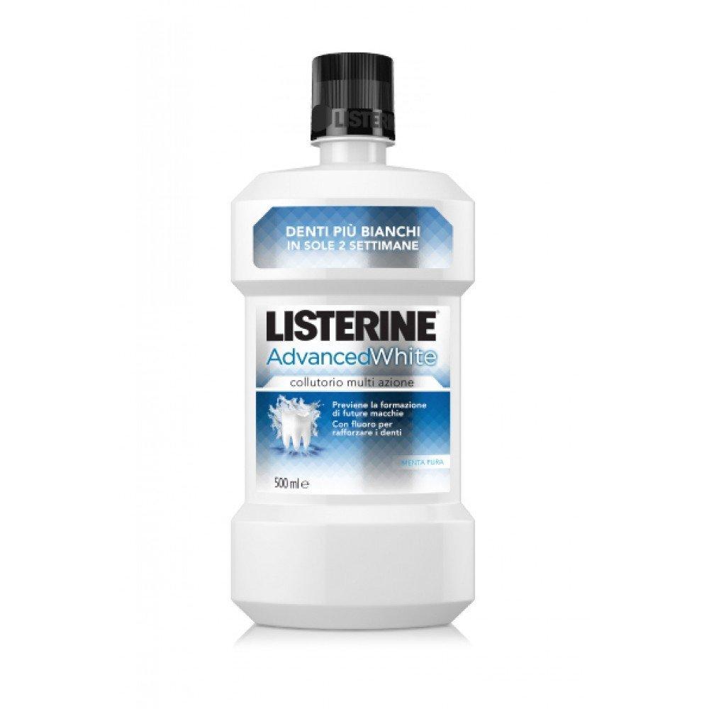 listerine advanced white